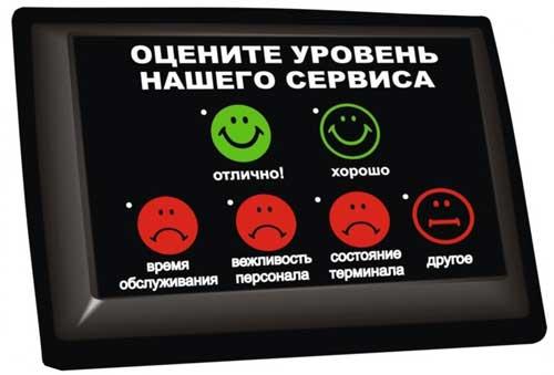 качества обслуживания клиентов